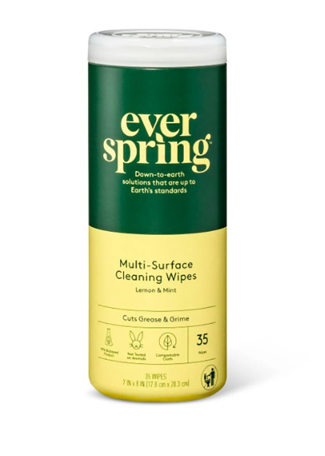 Target Everspring Lemon & Mint Multi-Surface Cleaning Wipes
