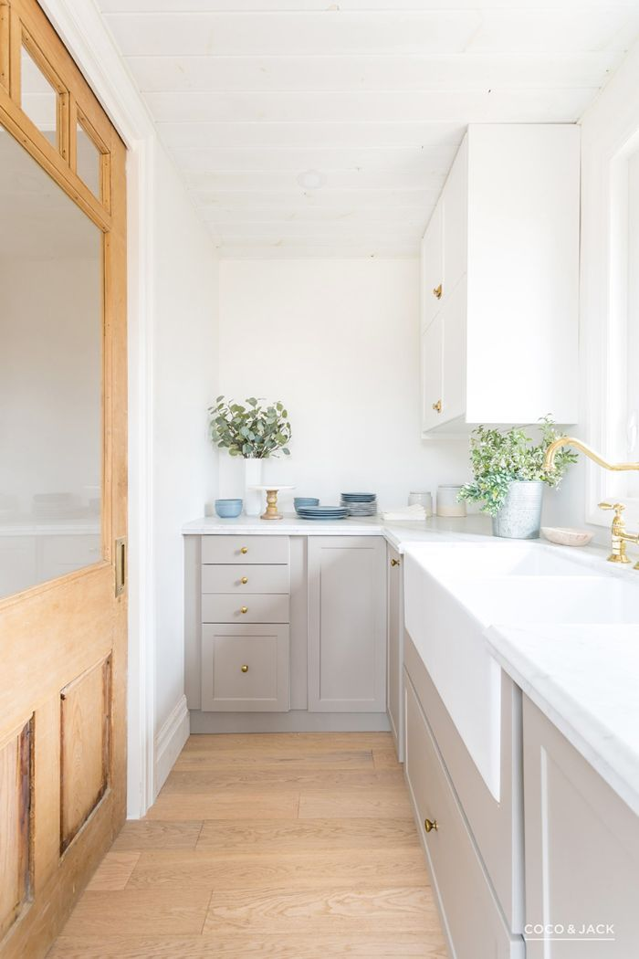 kitchen with IKEA cabinets