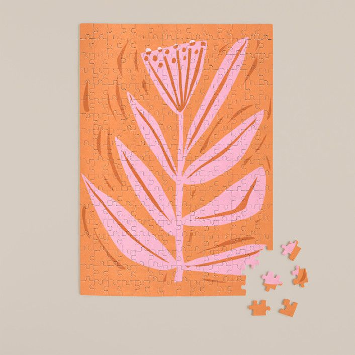Minted Tall Flower Puzzle