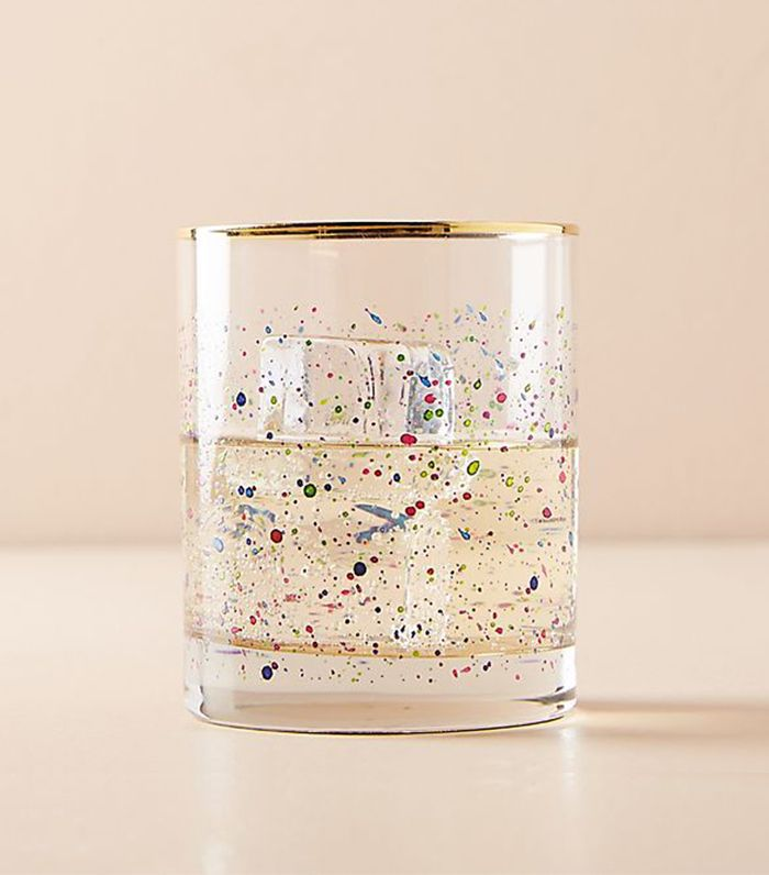 Anthropologie Sossi DOF Glass
