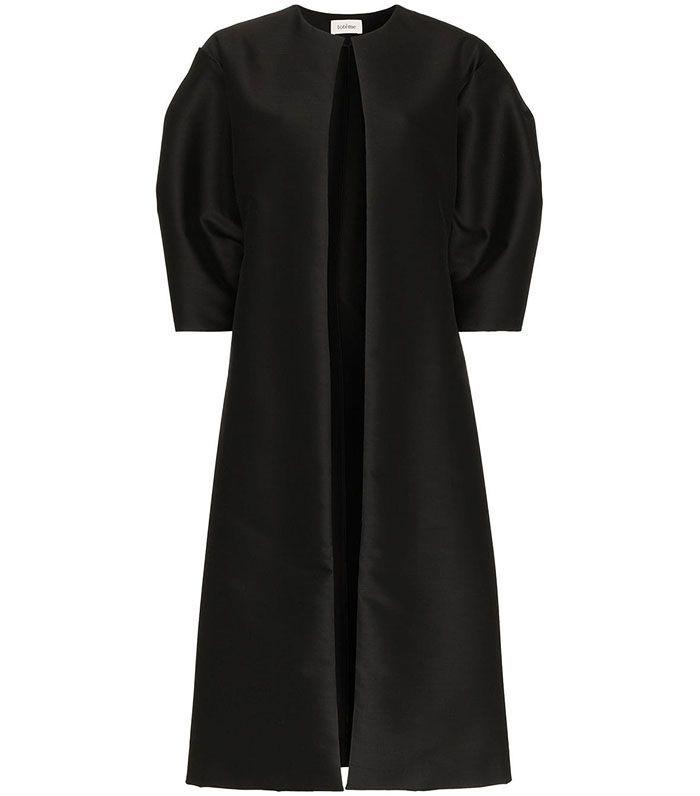 Toteme Short Sleeve Single-Breasted Coat