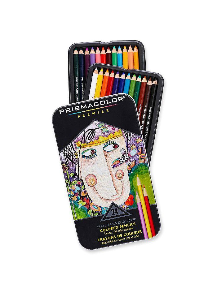 Prismacolor Colored Pencils, Set of 24