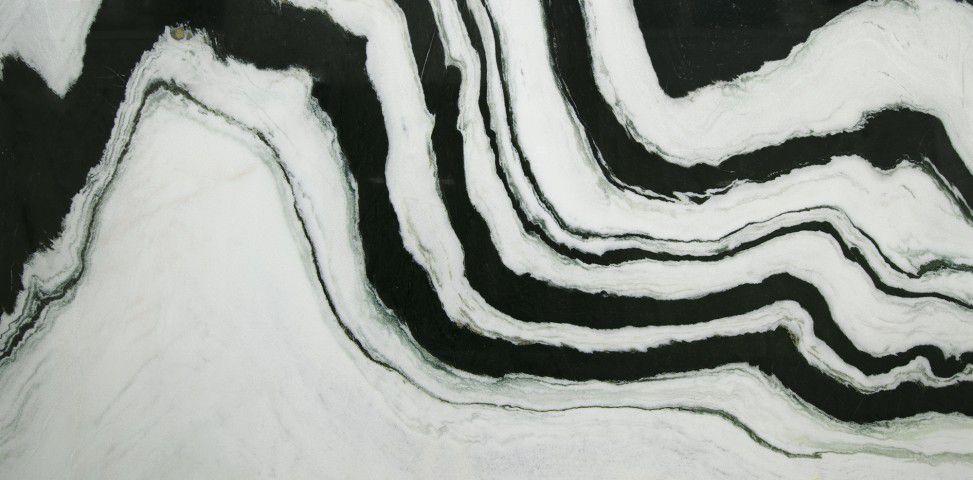 polished white stone slab