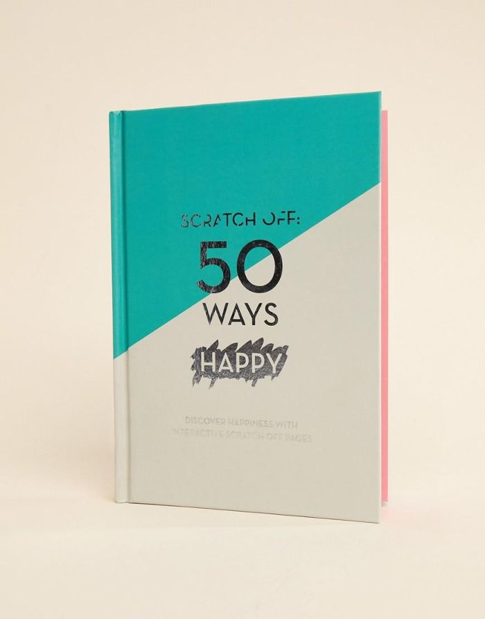 Scratch Off: 50 Ways To Be Happy Book