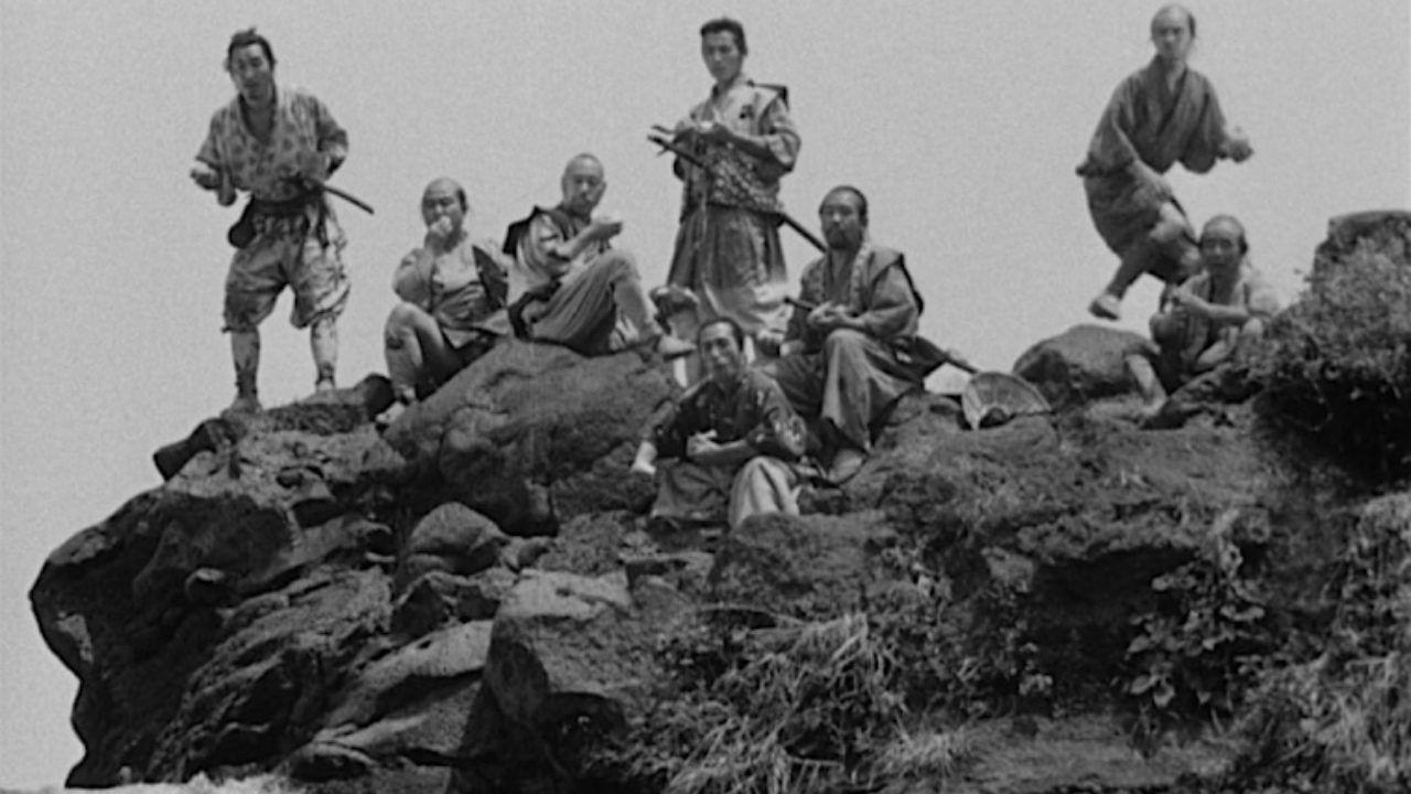 best black and white movies - seven samurai