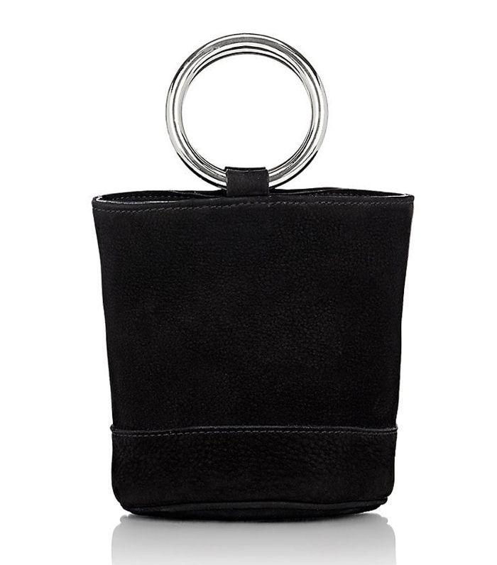 Women's Bonsai Bucket Bag-Black