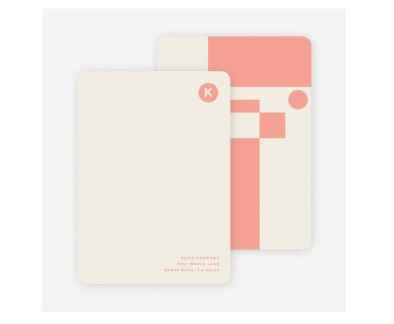 Paper Culture Geometry Rules Stationery