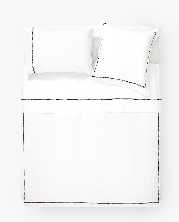 Zara Home Duvet Cover with Embroided Band