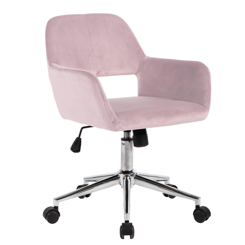 Carvey Velvet Task Chair