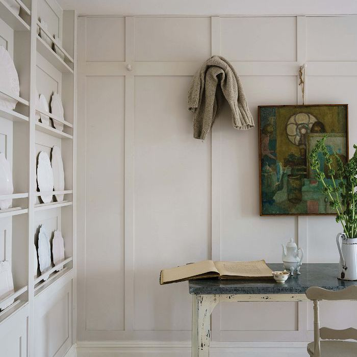 Timeless Kitchen With Old White Farrow And Ball On The: We Want To Move Into Farrow & Ball's Dreamy Fall Editorial
