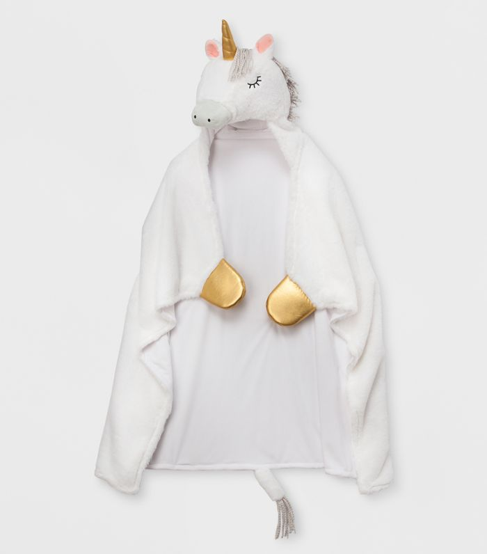 Pillowfort Unicorn Hooded Blanket