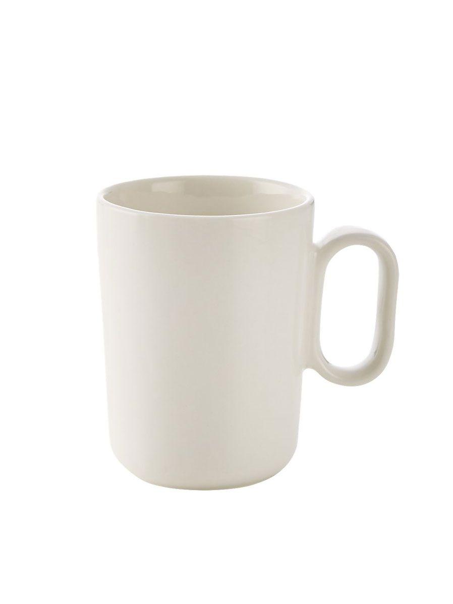 CB2 Pill White Espresso Cup