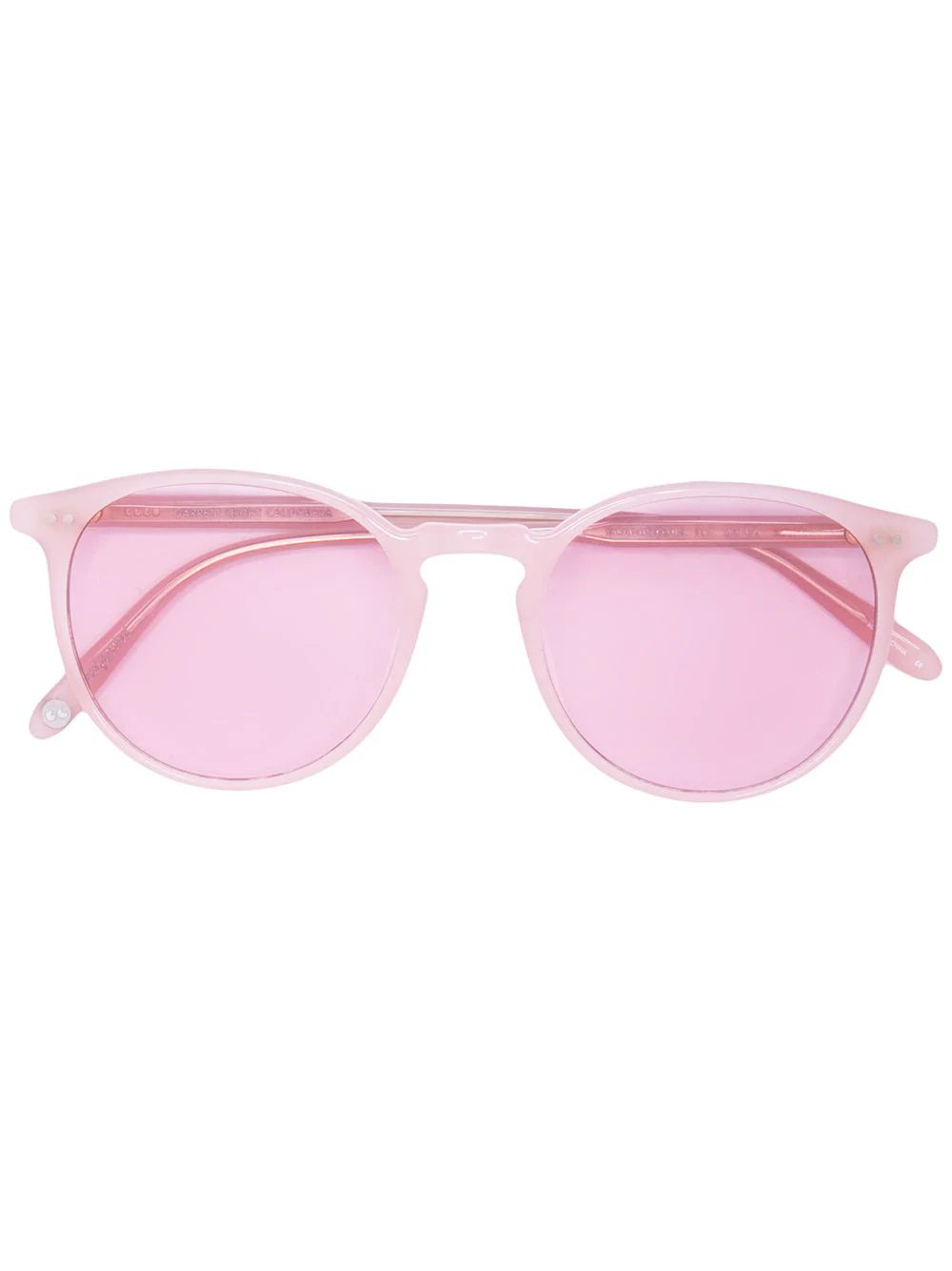 Garrett Leight Pink Morningside Sunglasses