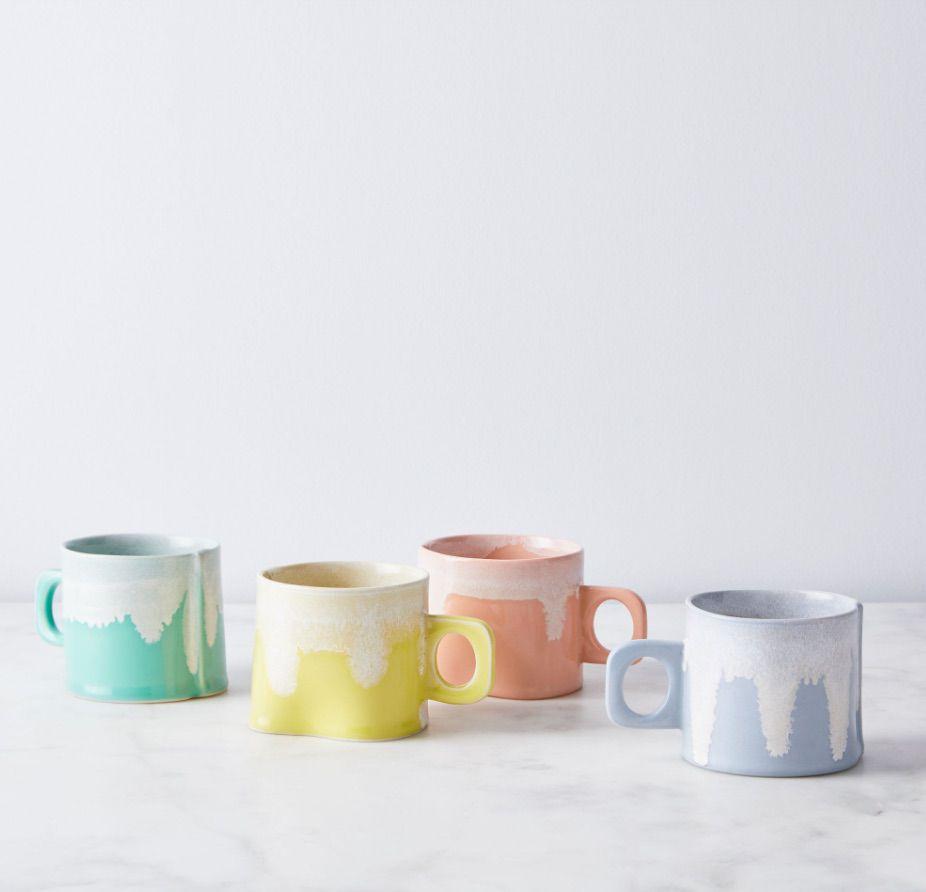 Handmade Color Drip Mug