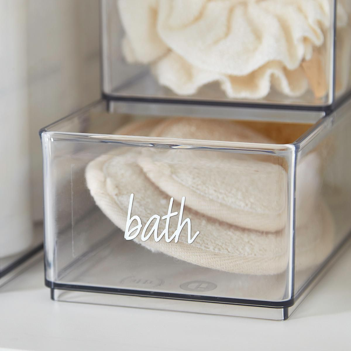 bath label
