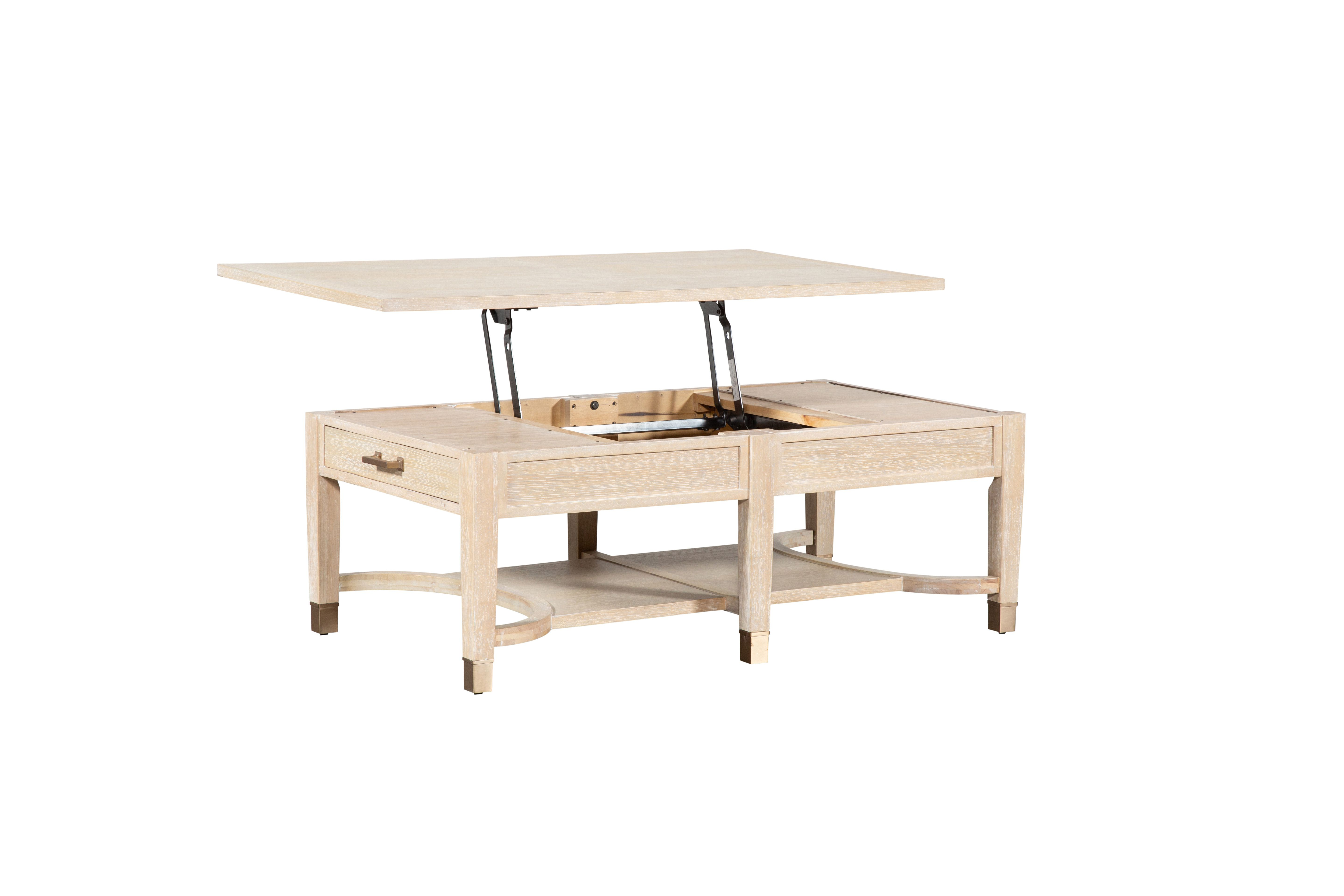Nate Berkus and Jeremiah Brent for Living Spaces Gramercy Lift-Top Storage Coffee Table