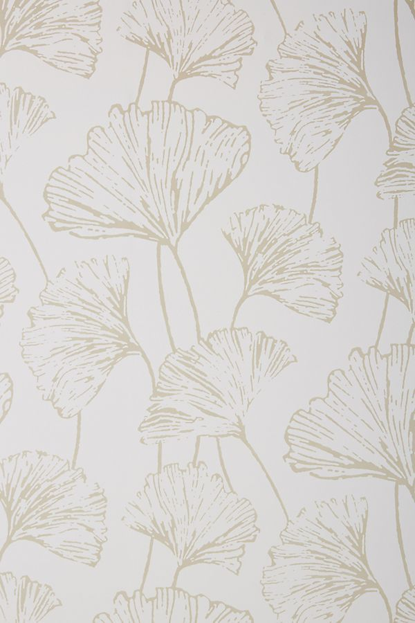 Anthropologie Ginkgo Reverie Wallpaper