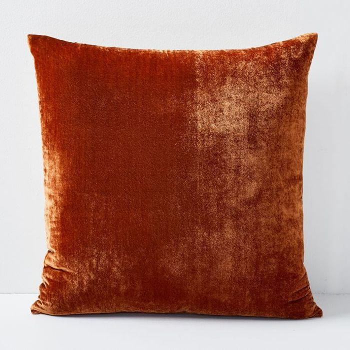 West Elm Lush Velvet Pillow Cover