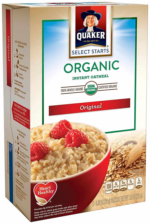 Organic Instant Oatmeal
