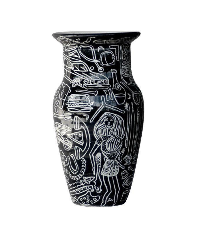 Dana Bechert Ceramics Barbie Pictographic Vase — Tictail pottery