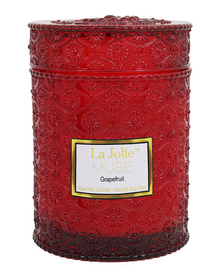La Jolie Muse Apple Grapefruit Scented Candle