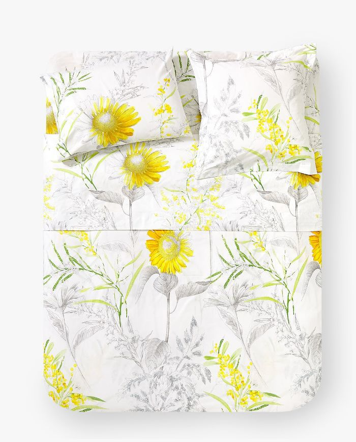 Zara Home Sunflower Print Duvet Cover
