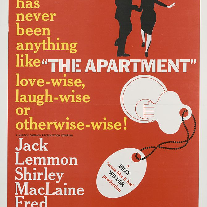 best black and white movies - the apartment