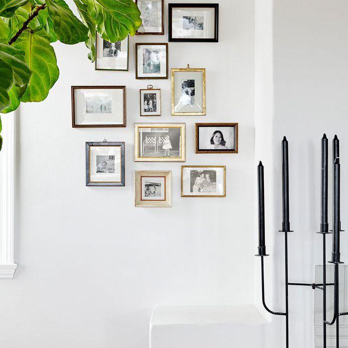Colección de fotos familiares.