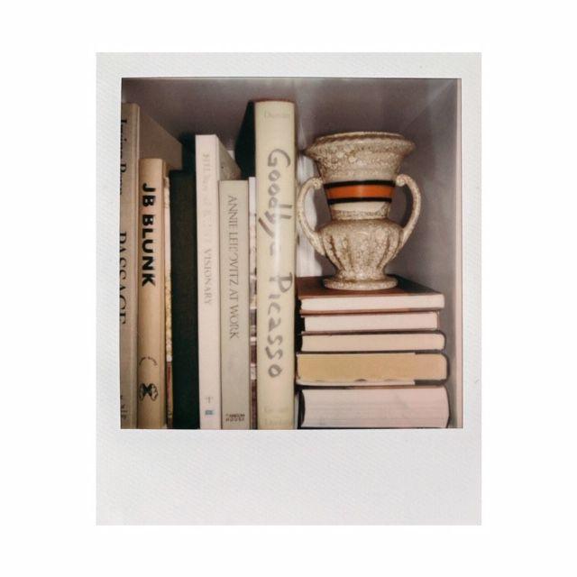 Photograph of books on shelf.