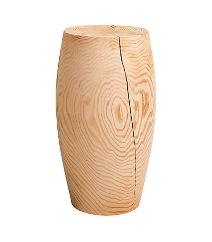 Room & Board Reclaimed Wood Stool, Drum