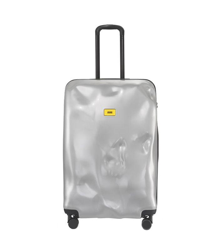 Crash Baggage Large Bright Trolley Case - Metallic