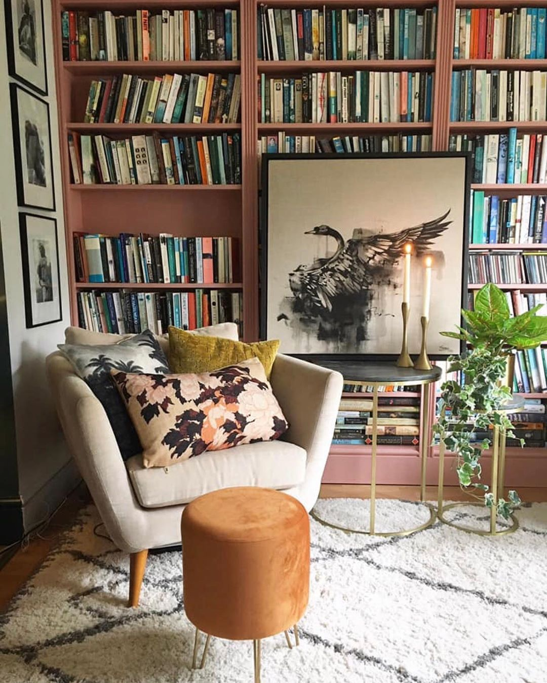 19 Inspiring Living Room Bookshelf Ideas
