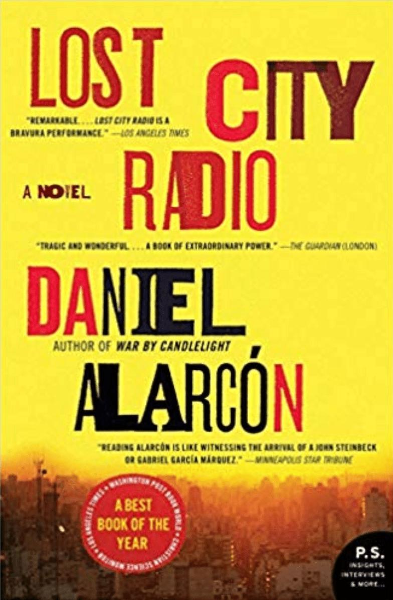Lost City Radio by Daniel Alarcón book cover