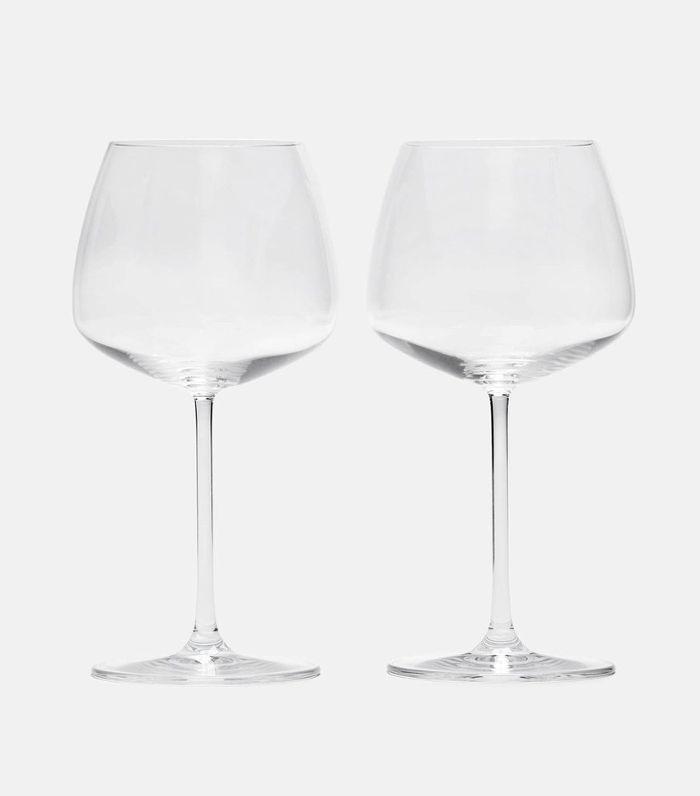 Nude White Wine Glasses