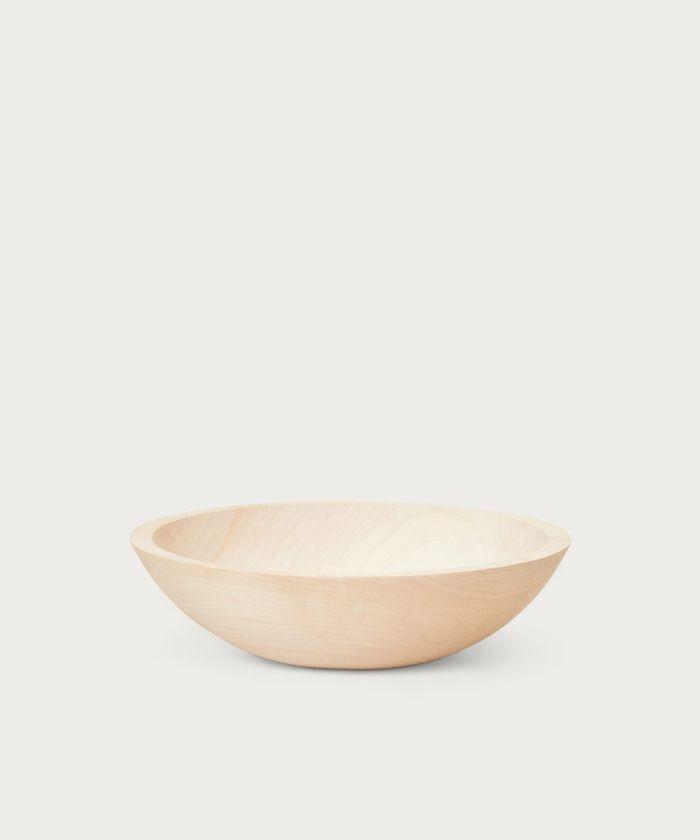 Jenni Kayne Large Maple Wood Bowl