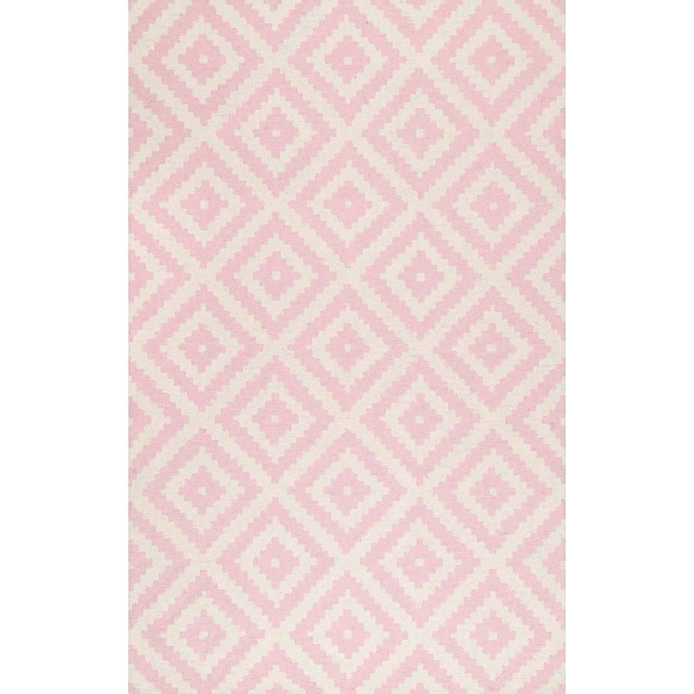 Kellee Light Pink Area Rug—How to Clean a Rug