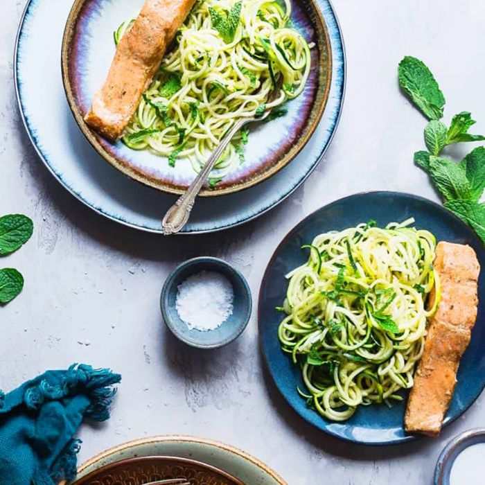 Curry Zucchini Noodles Spiralizer Recipe