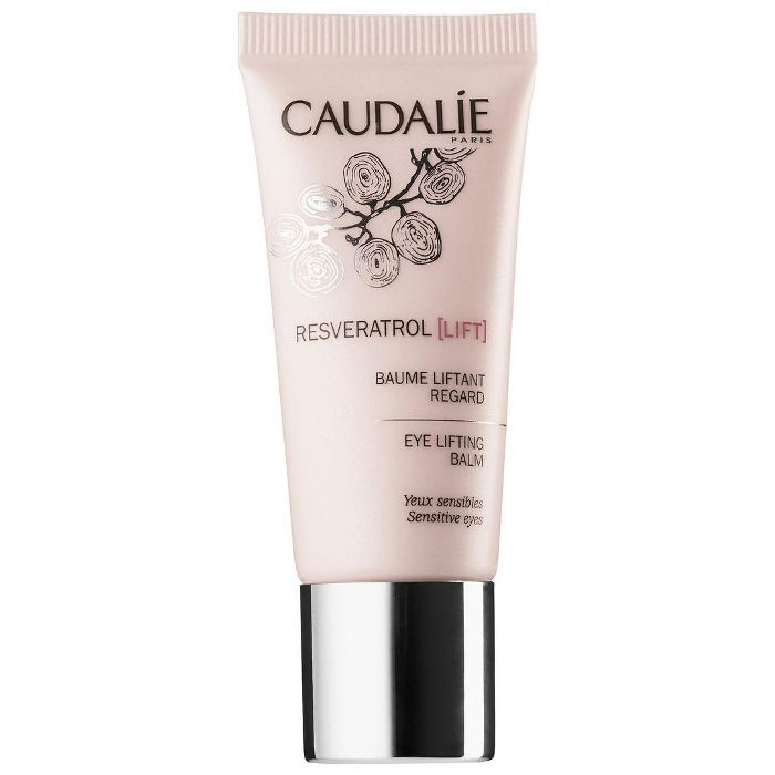 Dermatologist-Recommended Eye Creams Caudalie Resveratrol Lift Hyaluronic Acid Eye Lifting Balm