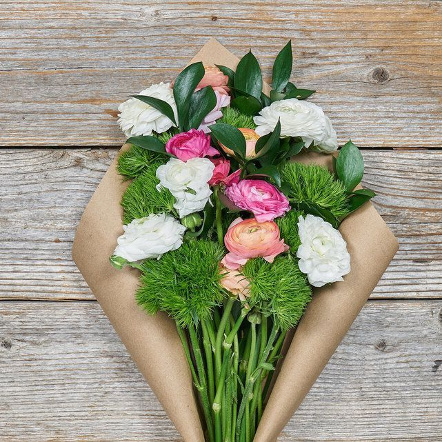 The Bouqs Company Pink and Pearl Ranunculus
