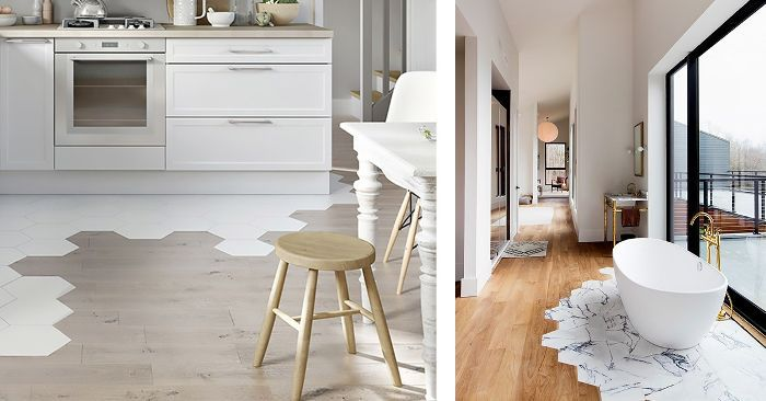 Our Favorite New Trend: Contrast Floors