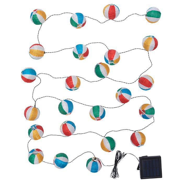 IKEA LED Solar-Powered String Light