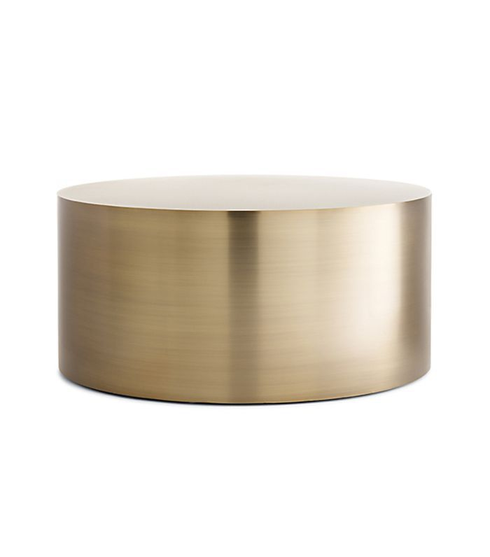 Thayer Coggin Drum Coffee Table