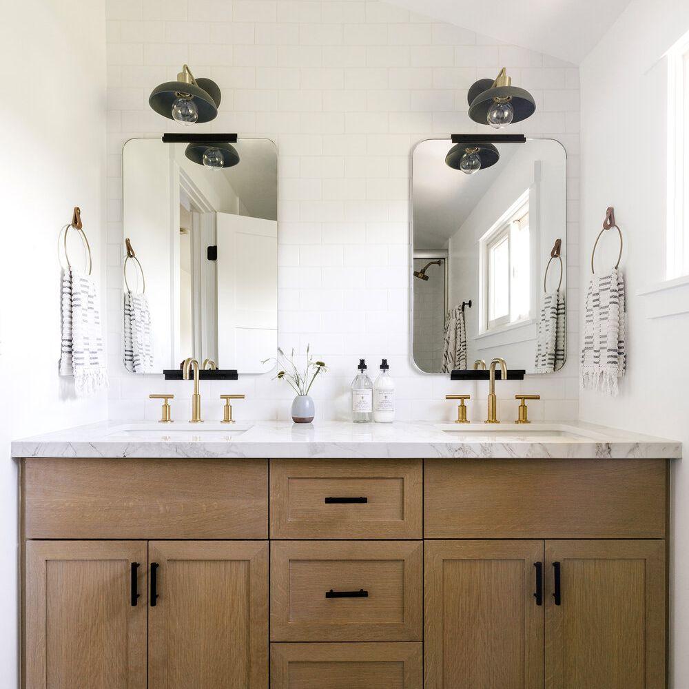 Double Vanity Ideas To Try In Your Bathroom, Double Vanities For Bathroom