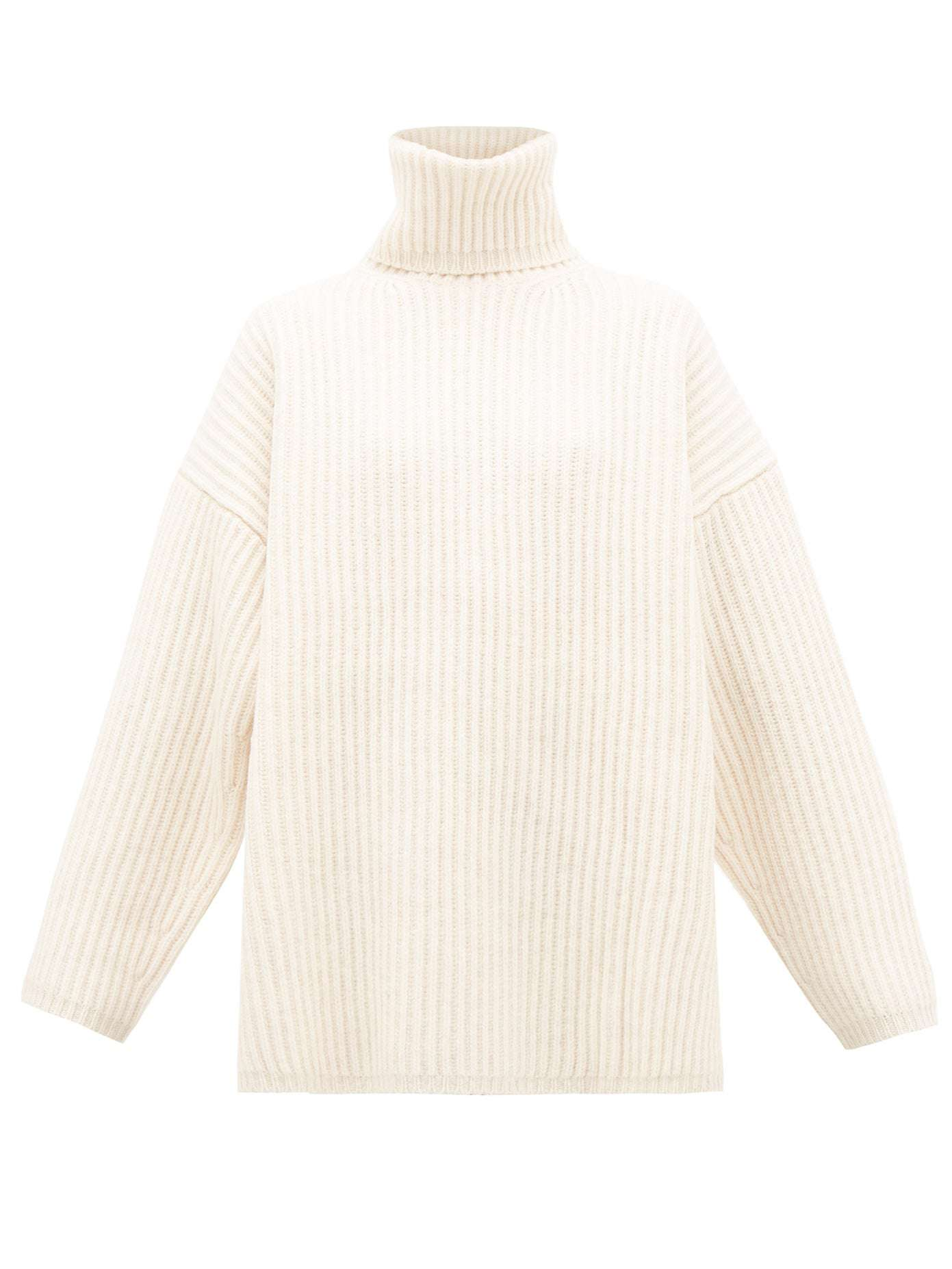 Acne Studios Disa Oversized Roll-Neck Wool Sweater