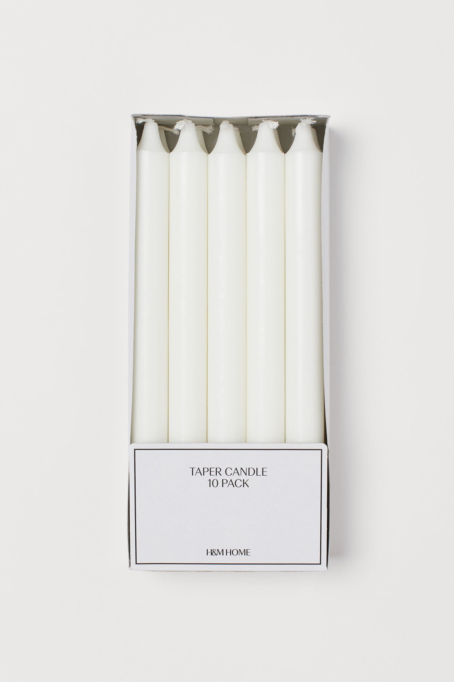 Taper candles.
