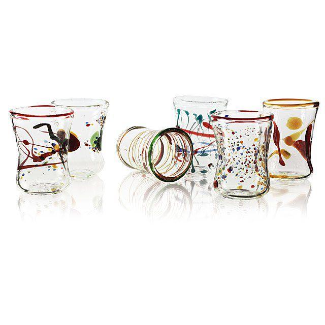 Massimo Lunardon Goto Venetian Wine Glasses