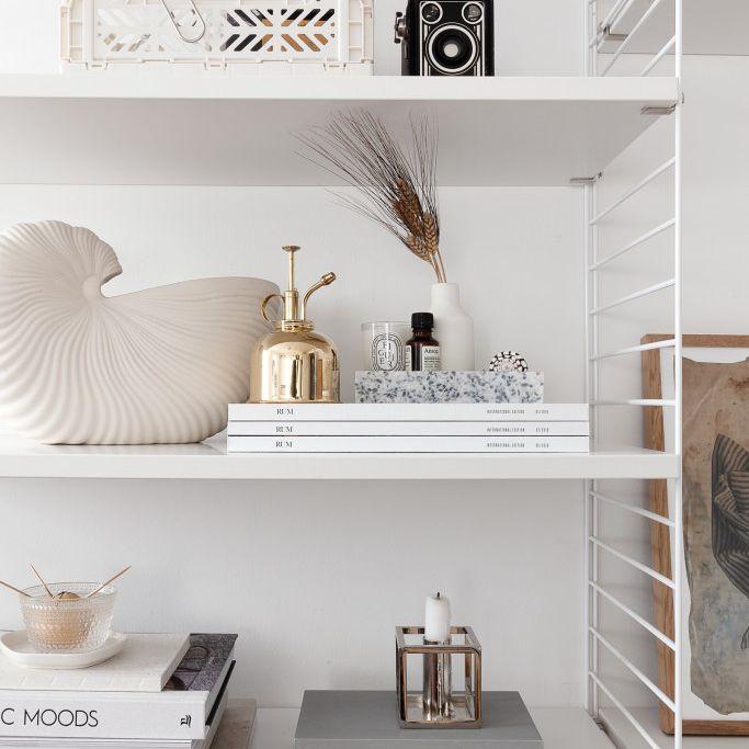 minimalist shelf