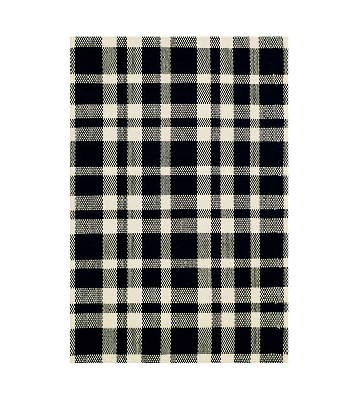 Dash and Albert Tattersall Woven Cotton Rug
