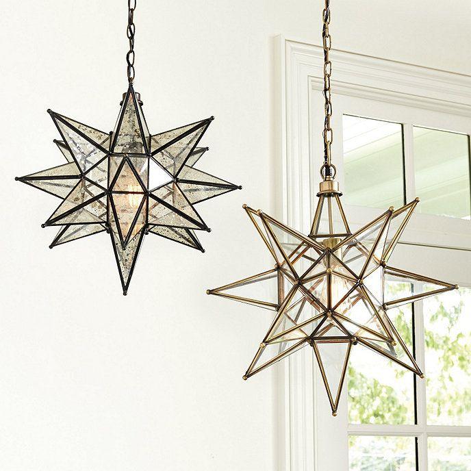 Moravian Star Pendan