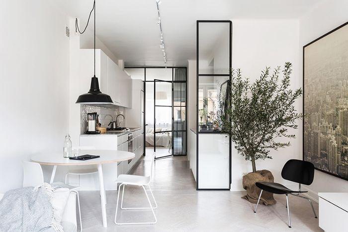 Small-Space Scandinavian Design—Kitchen